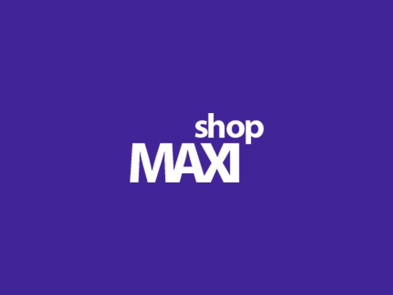 Сайт для интернет-магазина MAXISHOP