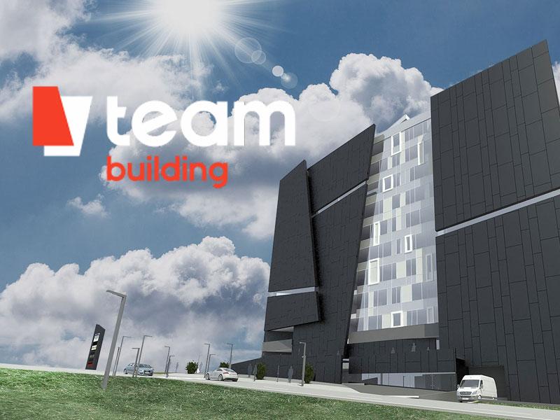 Landing page для Бизнес-центра TEAM BUILDING
